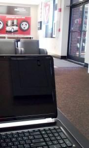 laptop at Firestone 2