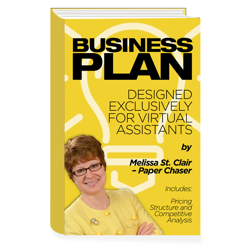 VA Business Plan Template Paper Chaser - Virtual assistant business plan template