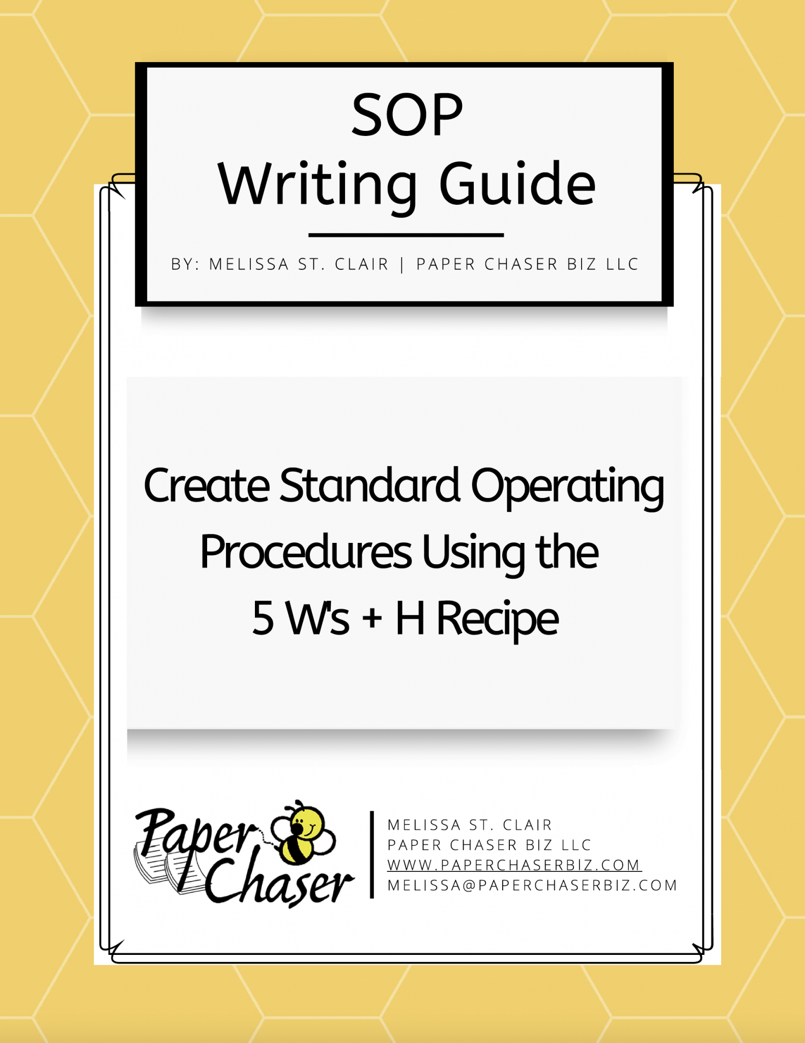 SOP Writing Guide